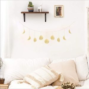 💕VSCO Moon Phase Garland with Chains Boho New 💕